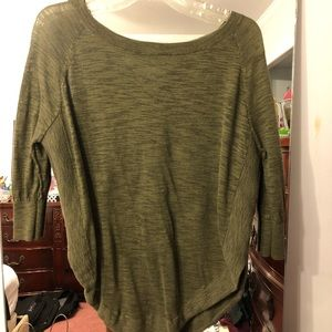 CUTE GREEN BACK STRAPPY BLOUSE!